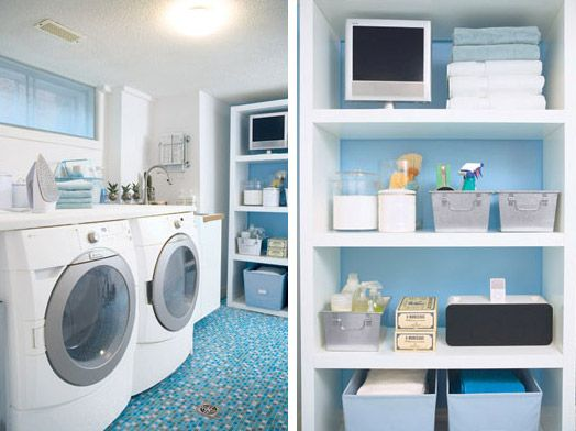 Four dreamy laundry rooms: http://pinkstinx.blogspot.com/2011/09/magnificent-laundry-rooms.html