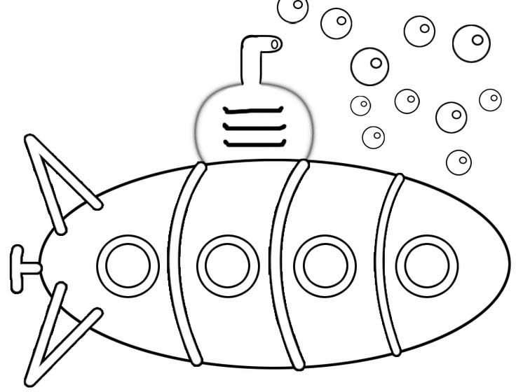 Submarino Para Colorear. dibujo de submarino para colorear dibujos ...