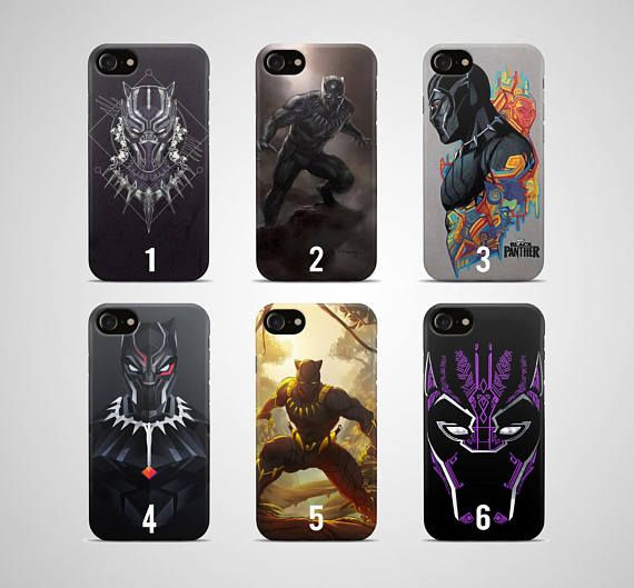various colors c9ae0 7efb6 Black panther phone case Black panther iPhone case 7 X plus 8 ...