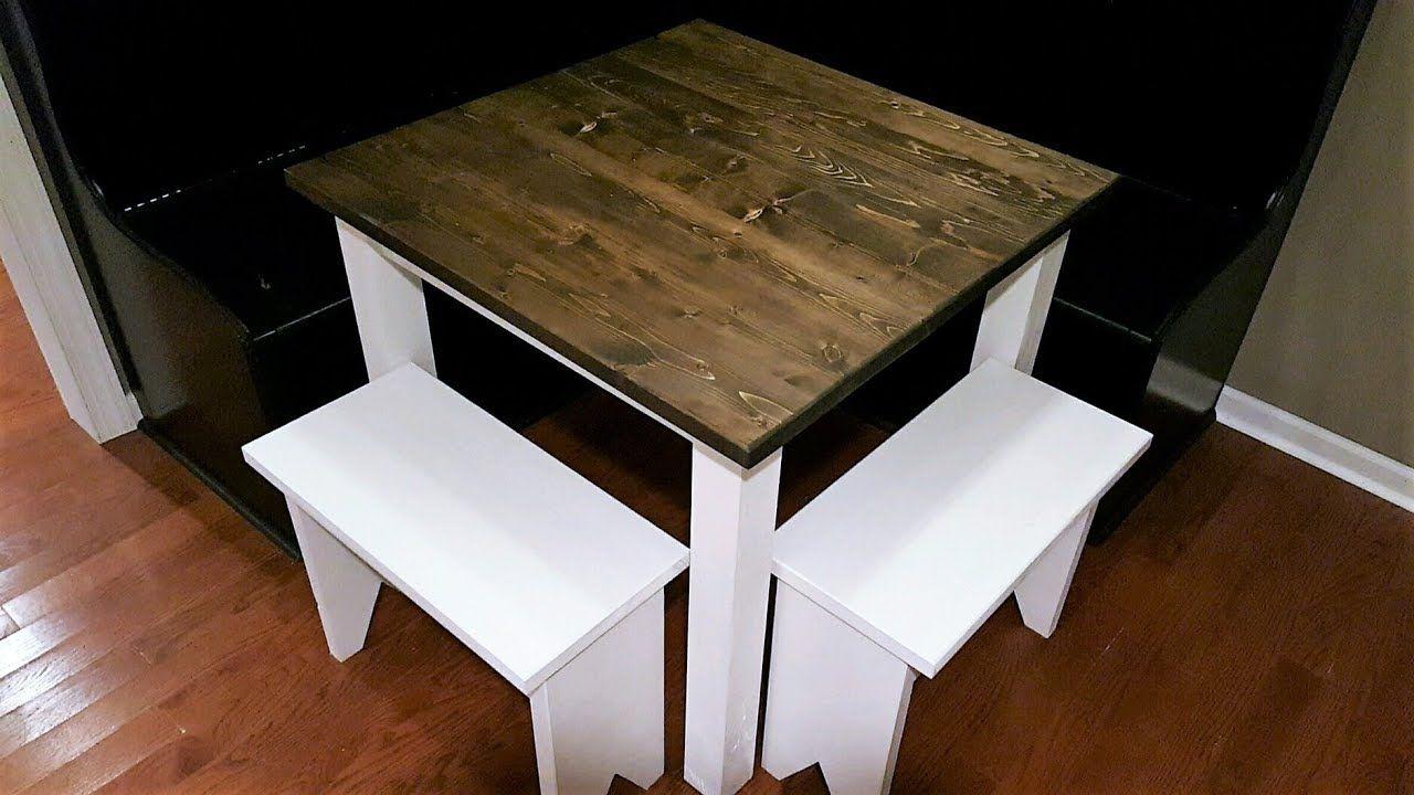 Small Farmhouse Table Build Diy Youtube Table Build Diy
