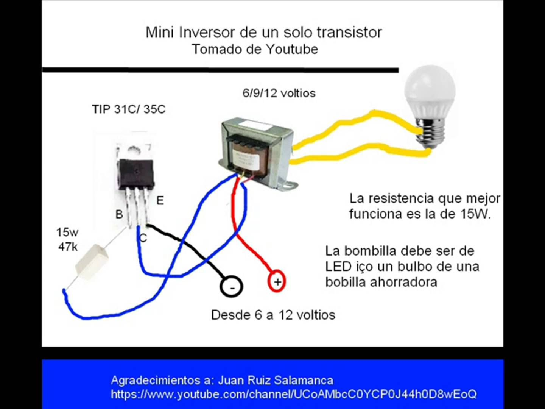 Mini Nversor Energa Ecolgica Pinterest Electrnica Y Led Circuito Basado Probador De Transistores