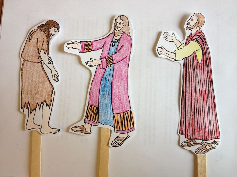 lesson plan prodigal son 3 to 5 yr olds