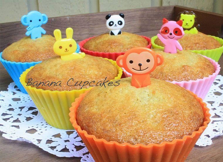 【西式烘焙/幼兒食譜】 香蕉杯子蛋糕,大同電鍋馬誒通!!!!