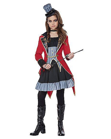 Tween Ringmaster Costume - Spirithalloween.com  sc 1 st  Pinterest & Tween Ringmaster Costume - Spirithalloween.com | halloween ...