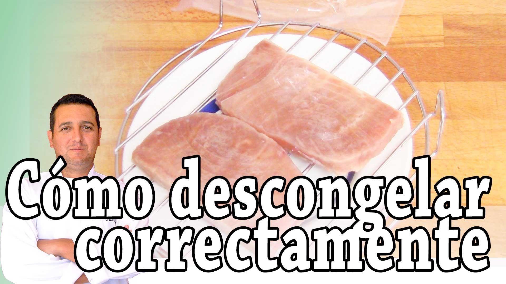Cómo descongelar correctamente - Consejos de cocina