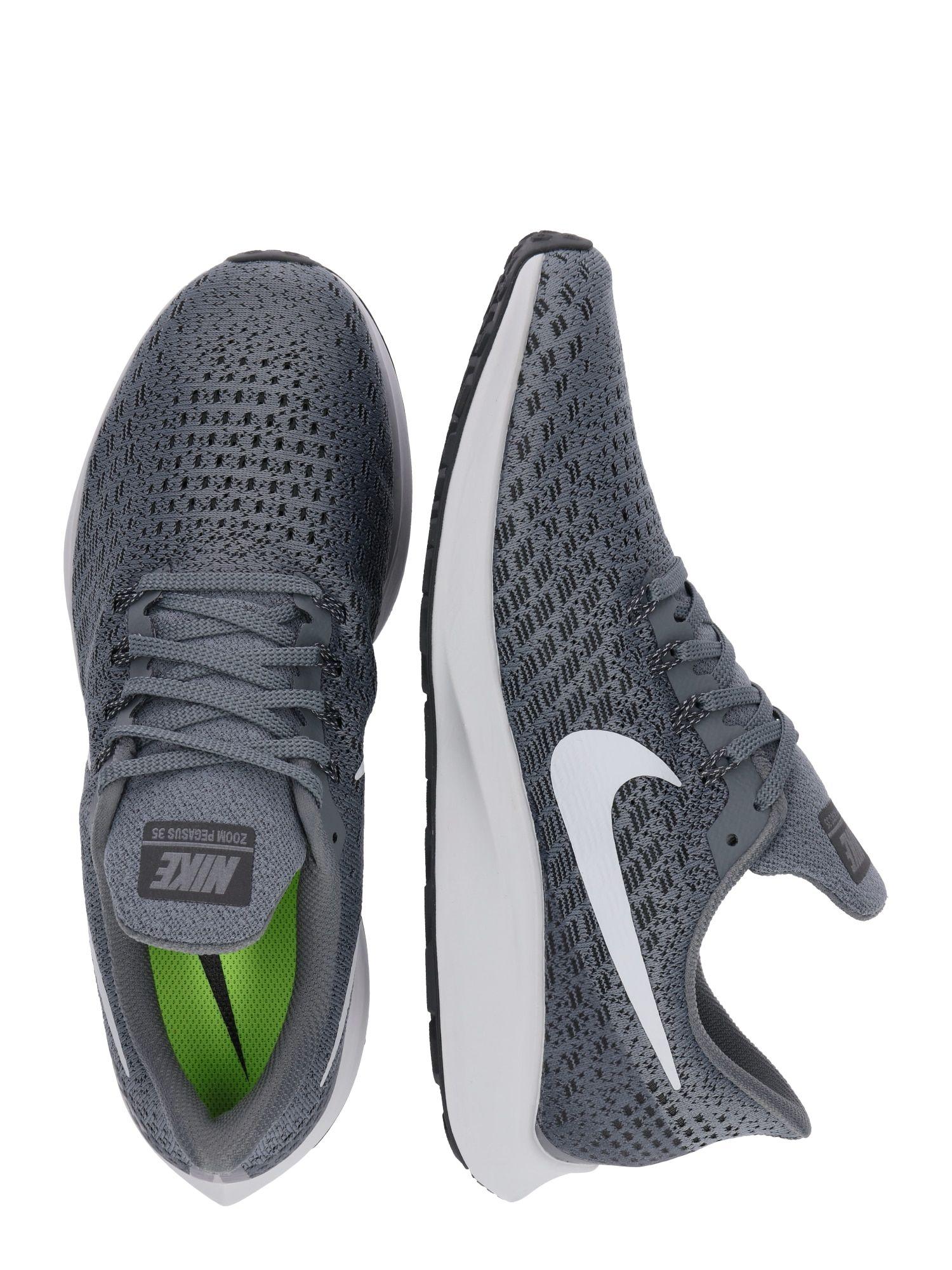 Nike Laufschuh Air Zoom Pegasus 35 Herren Grau Weiss Grosse 42 5 Laufschuhe Nike Schuhe