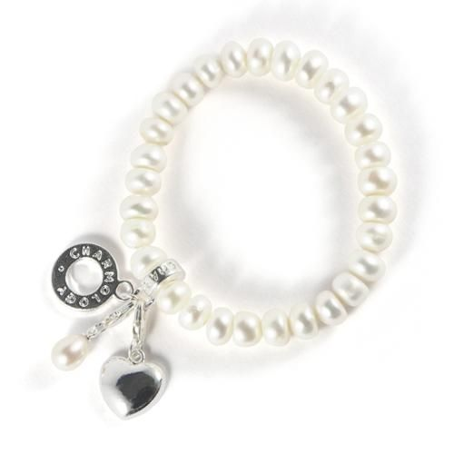 Natural Pearl Womans Widom Bracelet By Charmology A Pearl Is