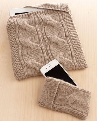 iPad , iPhone cashmere covers Neiman Marcus