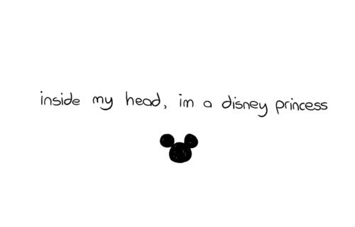 I am a Disney princess.