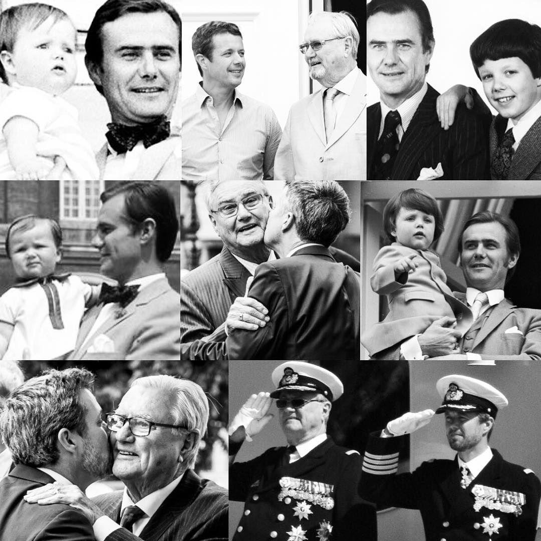 Prince Henrik 1934 2018 Fatherandson Prinshenrik Princehenrik Kronprinsfrederik Crownprincefrederik Danmark Kongelige Det Danske Kongehus