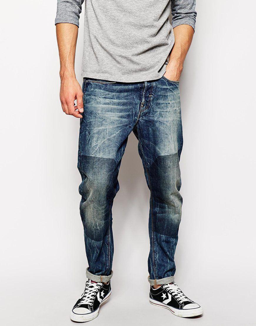 7e6e9d9952e G-star Raw G Star Jeans Type C 3d Loose Tapered Block Wash in Blue for Men  (Blockwash) | Lyst