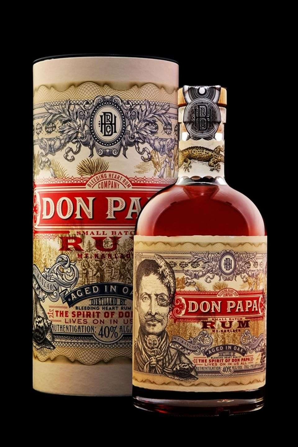 Don Papa Is A Small Batch Rum From The Philippines Sugar Capital Of Negros Distributed By Bleeding Heart Rum Company Intended To Be T Rum Bottle Rum Alcohol