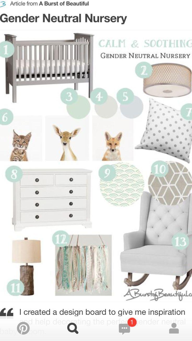 Baby Bedroom Neutral Animal Prints
