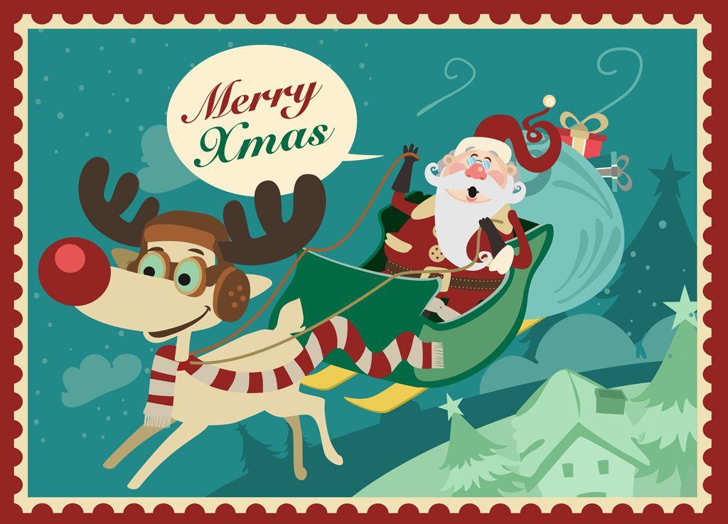 フリーイラスト素材 イラスト クリスマス 12月 行事 イベント