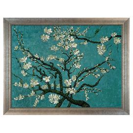 Branches of an Almond Tree in Blossom by Van Gogh Framed Canvas Reproduction II