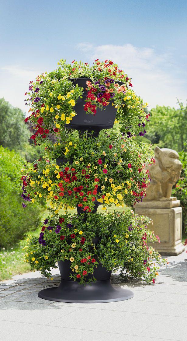 Stackable Herb Planter: Cascada Self-Watering | Gardeners.com ...