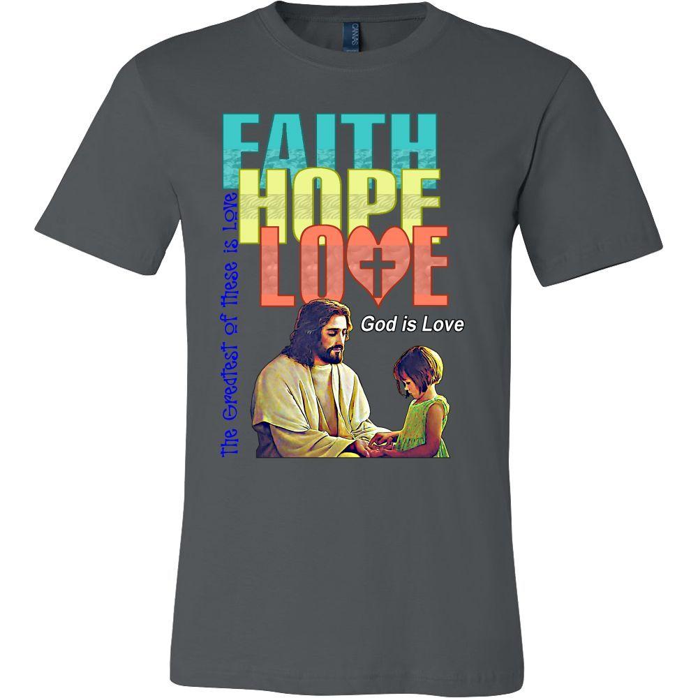 Canvas Men's-Faith Hope Love