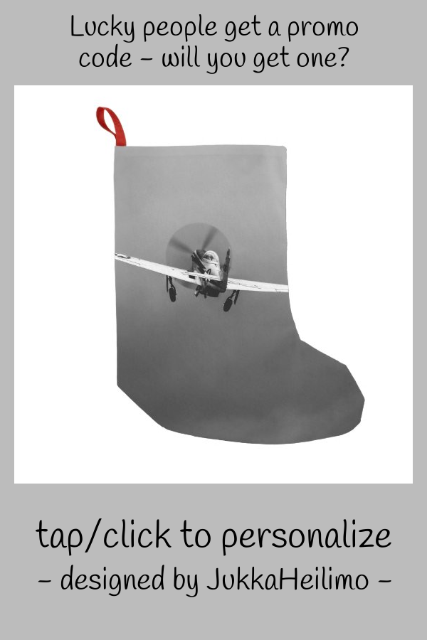 #promo P-51 Mustang takeoff in storm Small Christmas Stocking #p51 #mustang #fighter #takeoff #storm #SmallChristmasStocking #affiliatelink #christmasstocking