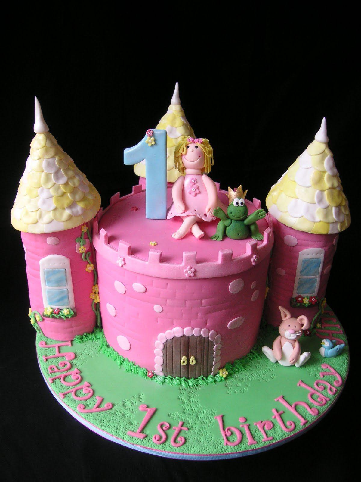 Castle Birthday Cake Pinteres