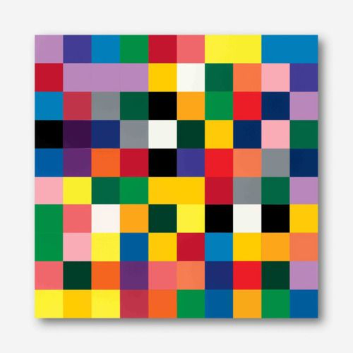 mdme-x:  Gerhard Richter4900 Colours Version I (consists of 196 plates) each 48.5 x 48.5cm.