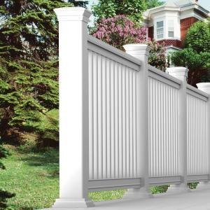 Best Veranda Pro Rail 8 Ft X 36 In White Polycomposite Rail 640 x 480