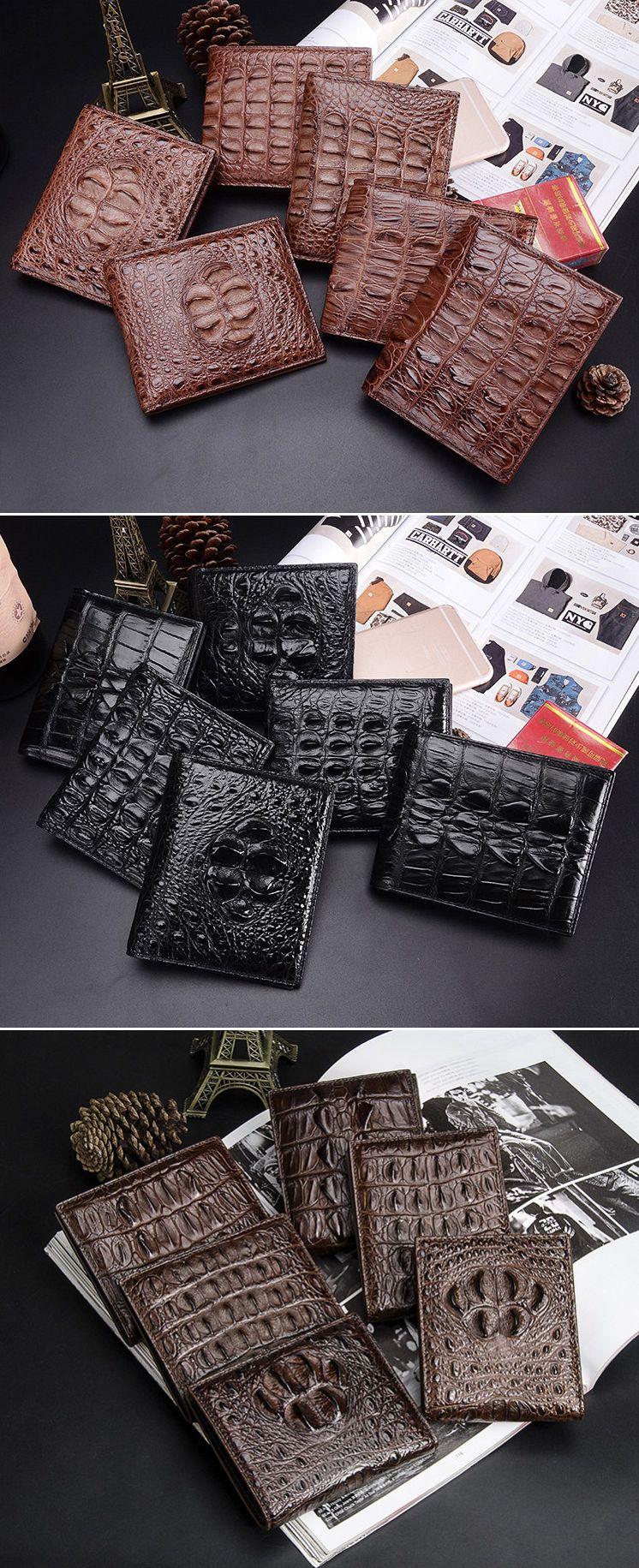 bac788da188d Mens Crocodile Wallet, Mens Alligator Wallet | Crocodile Wallets and ...