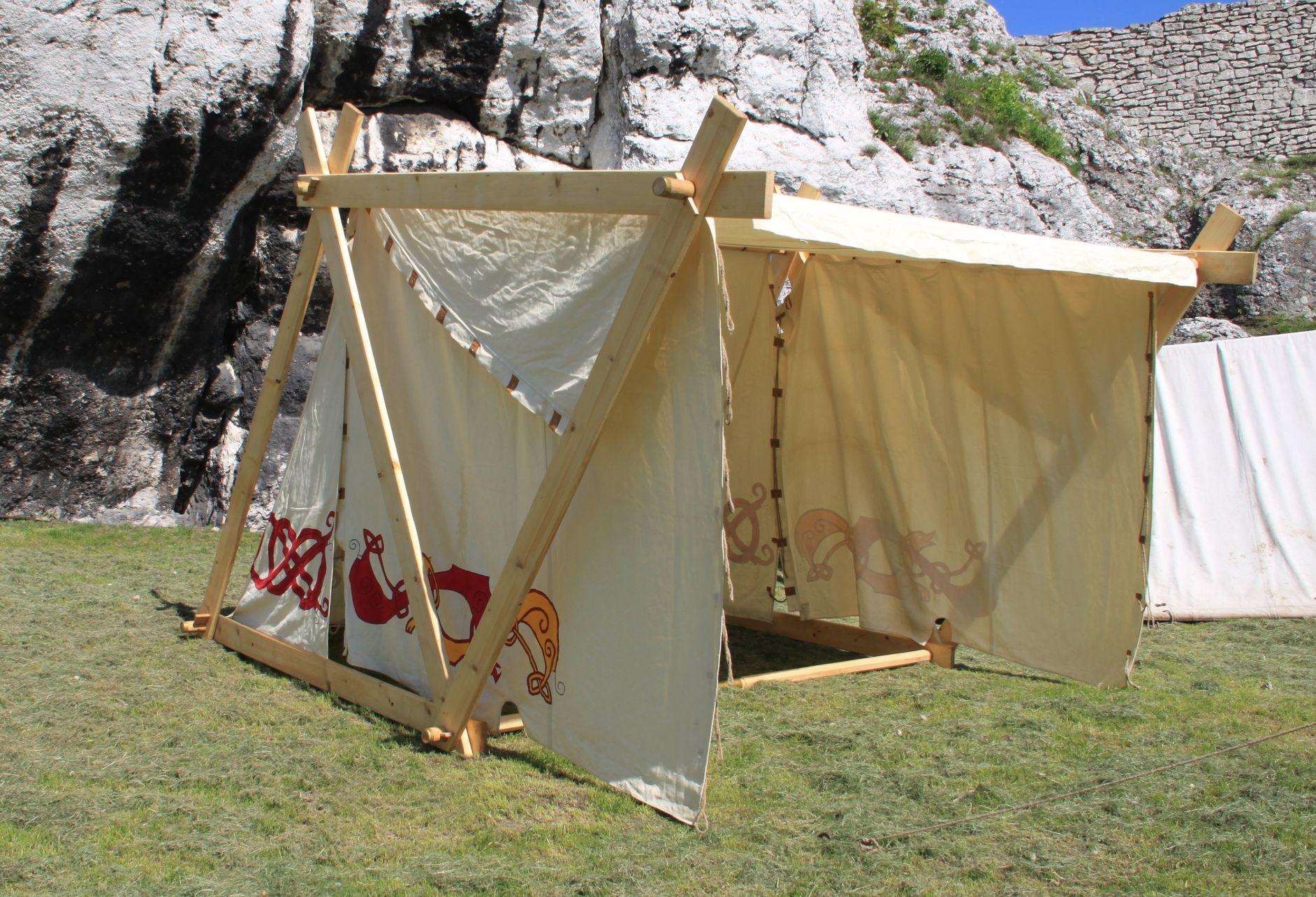 Historical tents - Tentorium - Anglo-Saxon Geteld historical tent soldier tents & Historical tents - Tentorium - Anglo-Saxon Geteld historical ...