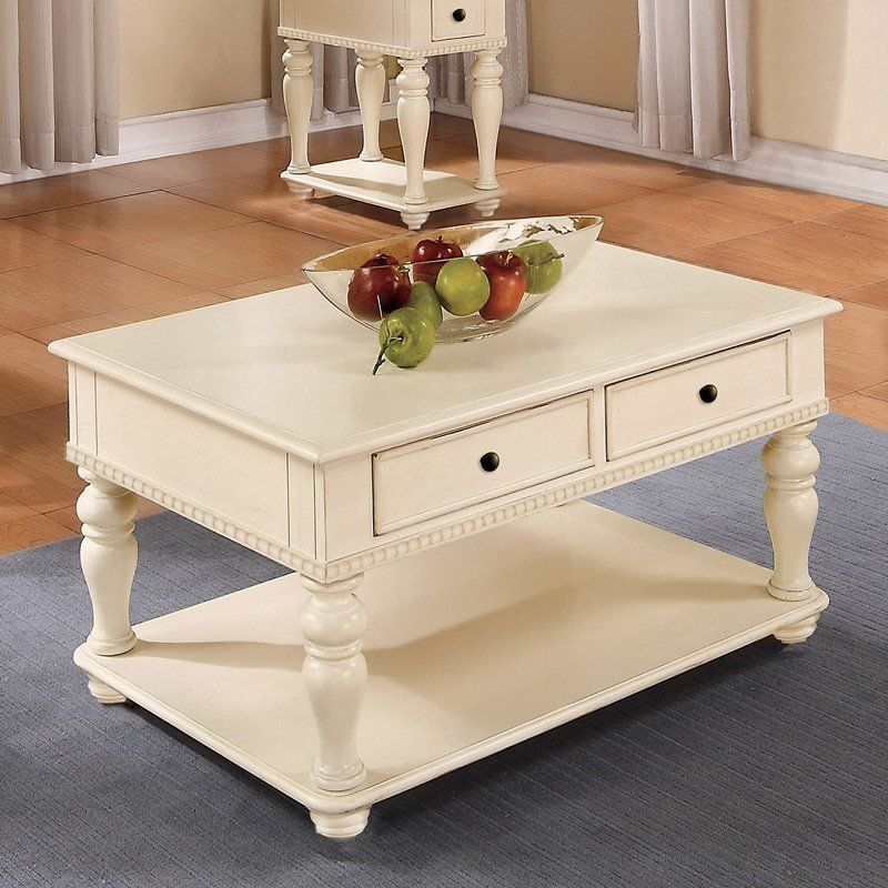 Best Riverside Addison Cocktail Table Palladian White From 640 x 480