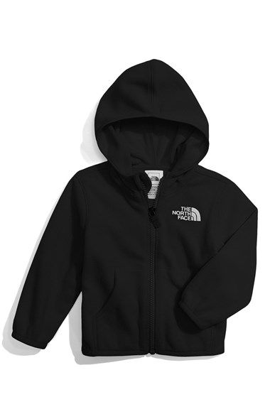 6e869ba1a3c Free shipping and returns on The North Face  Glacier  Fleece Jacket (Baby)  at Nordstrom.com. A hooded zip-front jacket styled with split kangaroo  pockets is ...