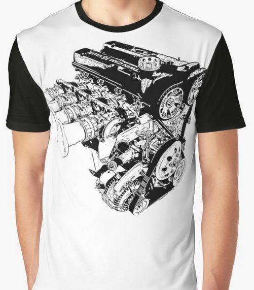 3021afbf816f5 Toyota 4AGE Twin Cam Racing engine with ITB s Awsome T-shirt for car guys