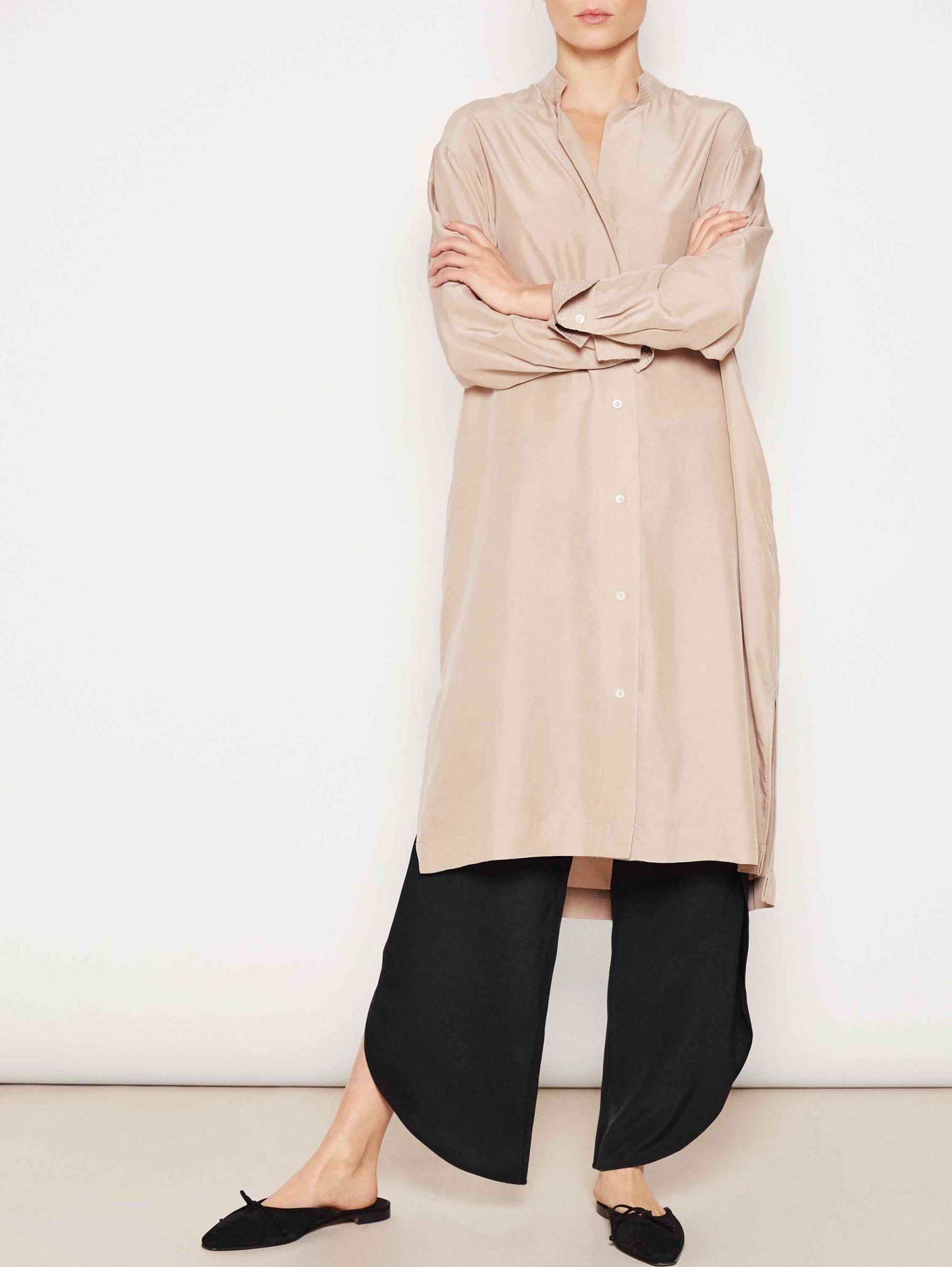 2a2948ce5cdf Kenya silk tunic dusty pink | Vêtements de saison