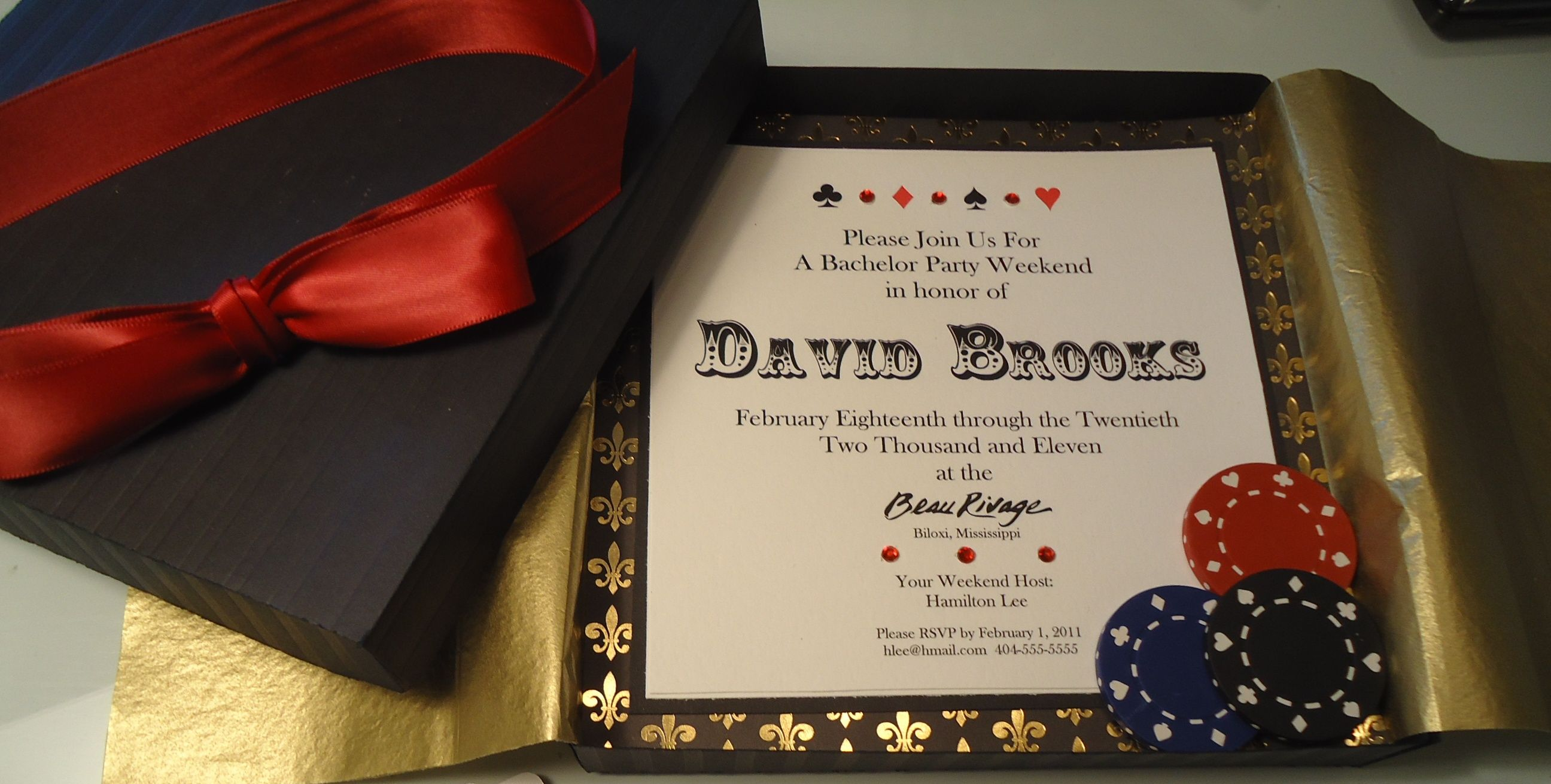 casino party invitations Google Search – Wording for Bachelor Party Invitations