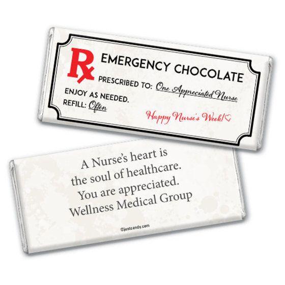 Personalized Emergency Chocolate Kit Chocolate Bar