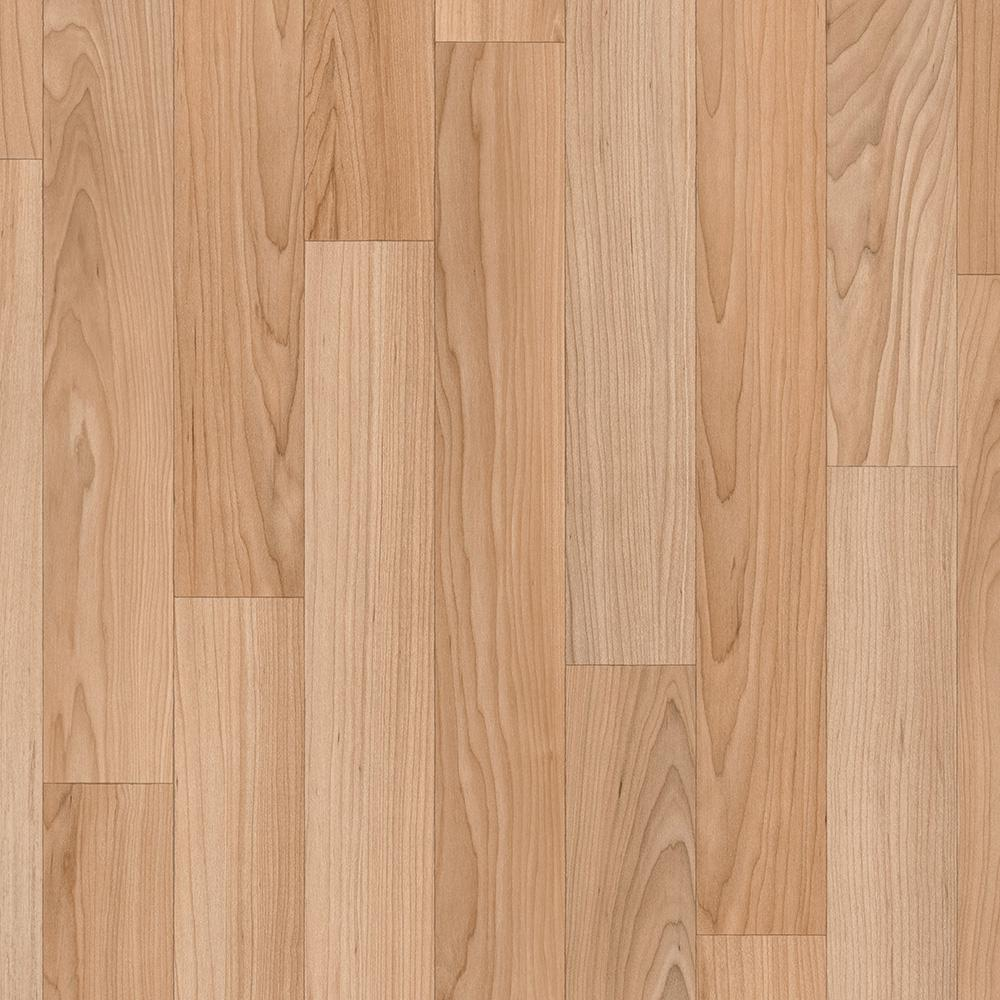 Trafficmaster Oak Strip Natural 12 Ft Wide X Your Choice Length Residential Vinyl Sheet U9160 284c792g144 The Hom Vinyl Sheet Flooring Vinyl Sheets Flooring