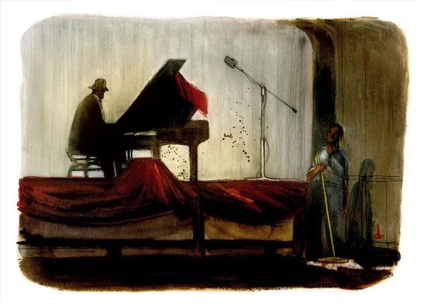 Thelonious Monk - 'Round Midnight by Serge Dehaes