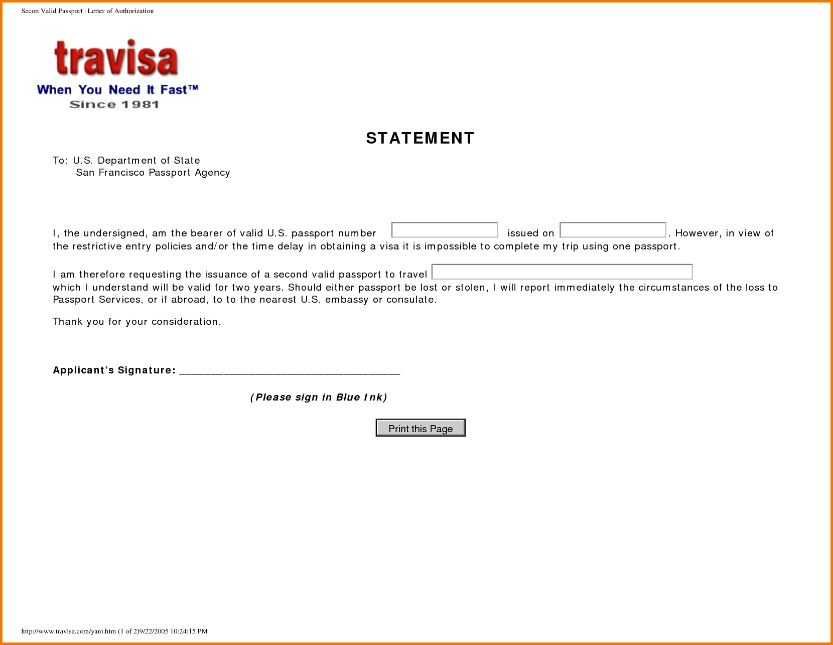 Authorization Letter For Collection Passport Sample Process