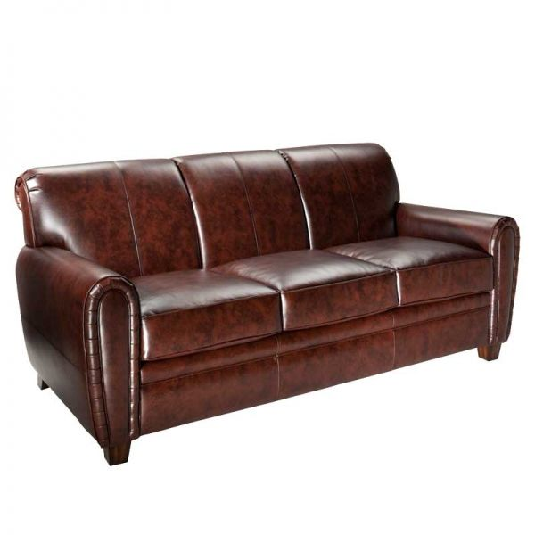 Captivating Mirabel Sofa By CORT | Rich Old World Style Brown Leather Sofa Is The Right  Choice