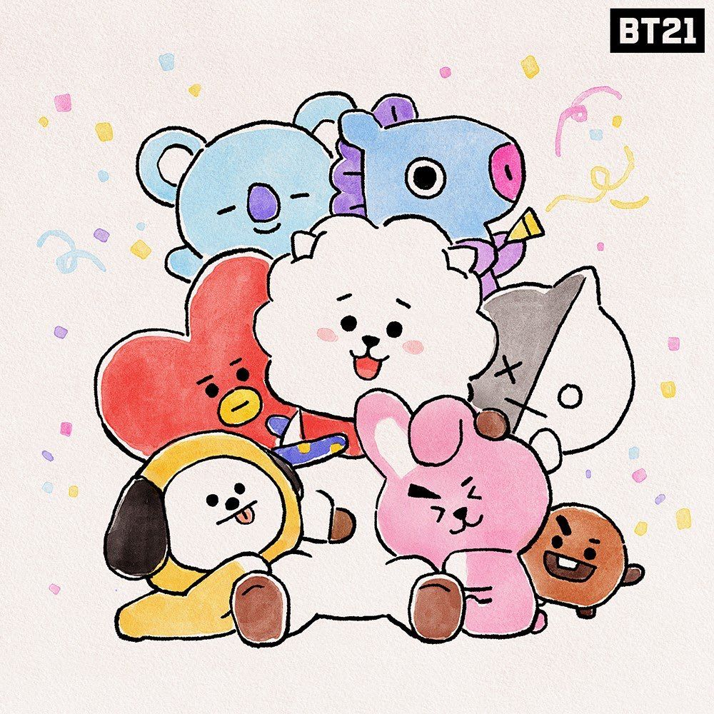 Photo of 181204 @BT21_ • Love this warm feeling of snuggle cuddle ? #Warm_and_tig…