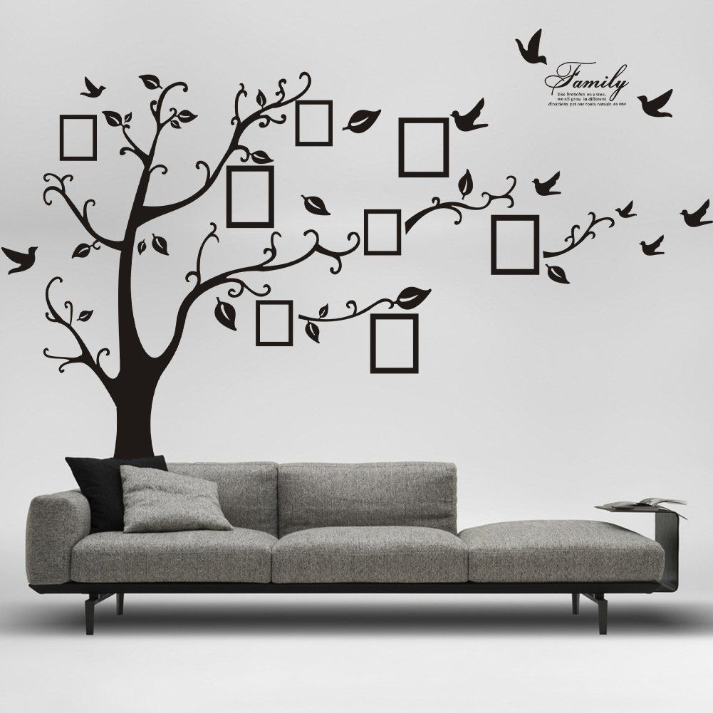 Family Tree Wall Decor picture removable wall decor decal sticker, only $8.59