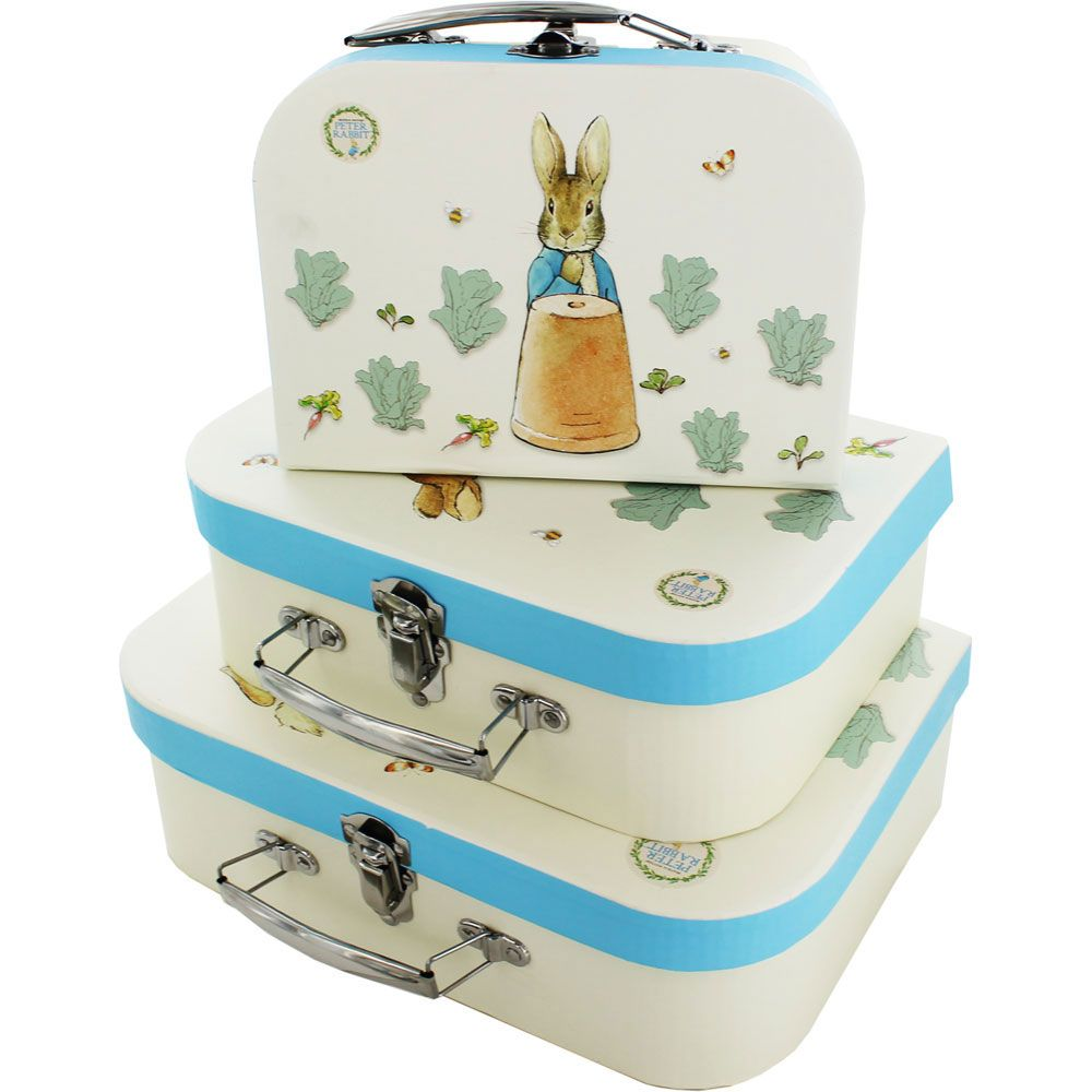 Peter Rabbit Storage Suitcases Set Of 3 Online From The Works Visit Now
