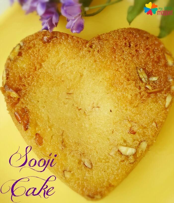 Eggless Sooji Cakerava Cake Recipe For Kids Recipe In 2018