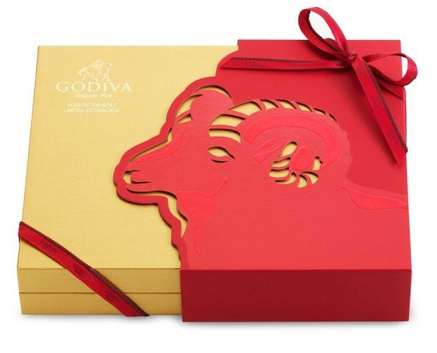 Godiva Year of the Goat Limited Edition 2015 China Luxury