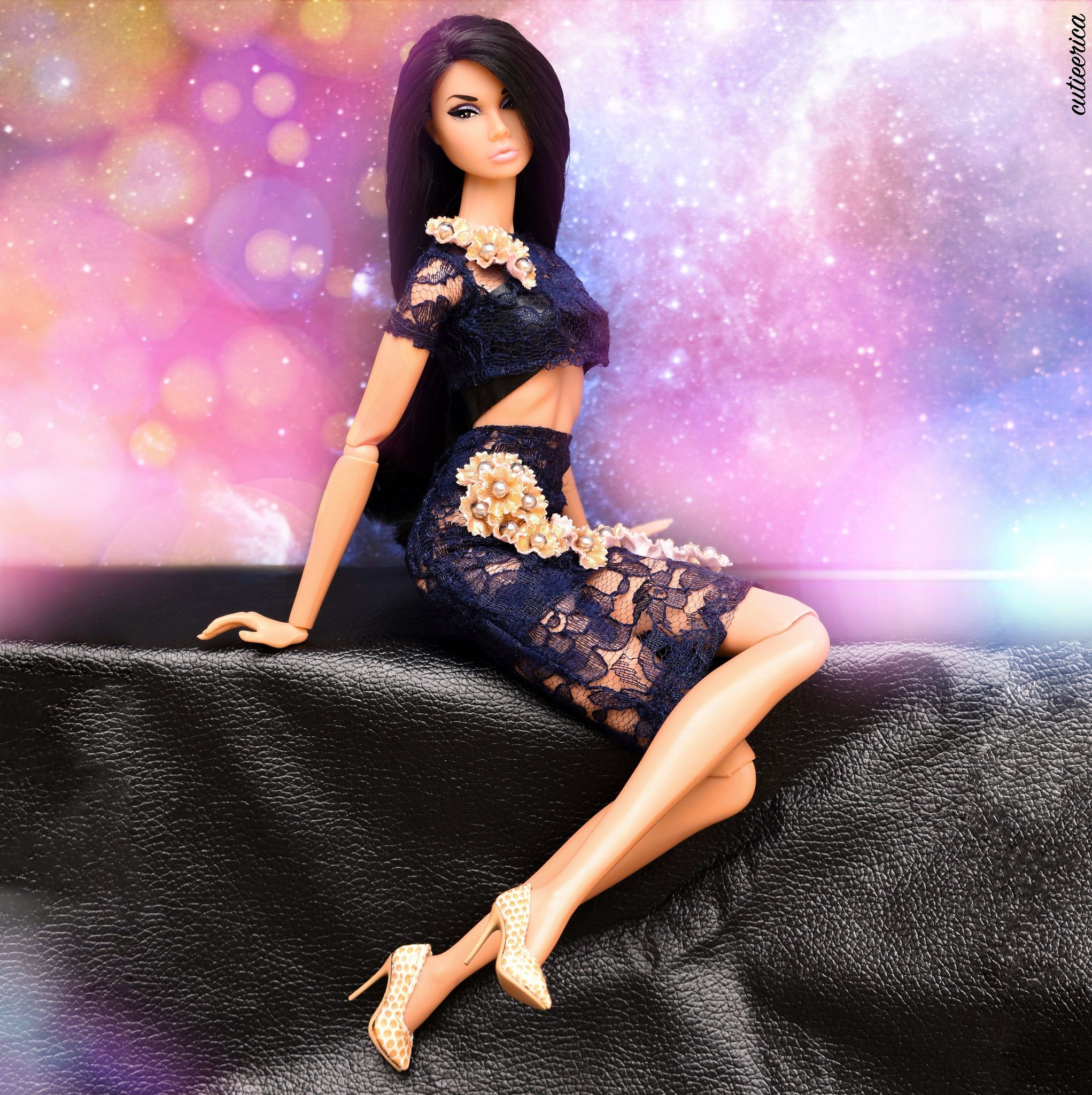 Tatyana in Doll Couture by Pania | Doll dress, Barbie