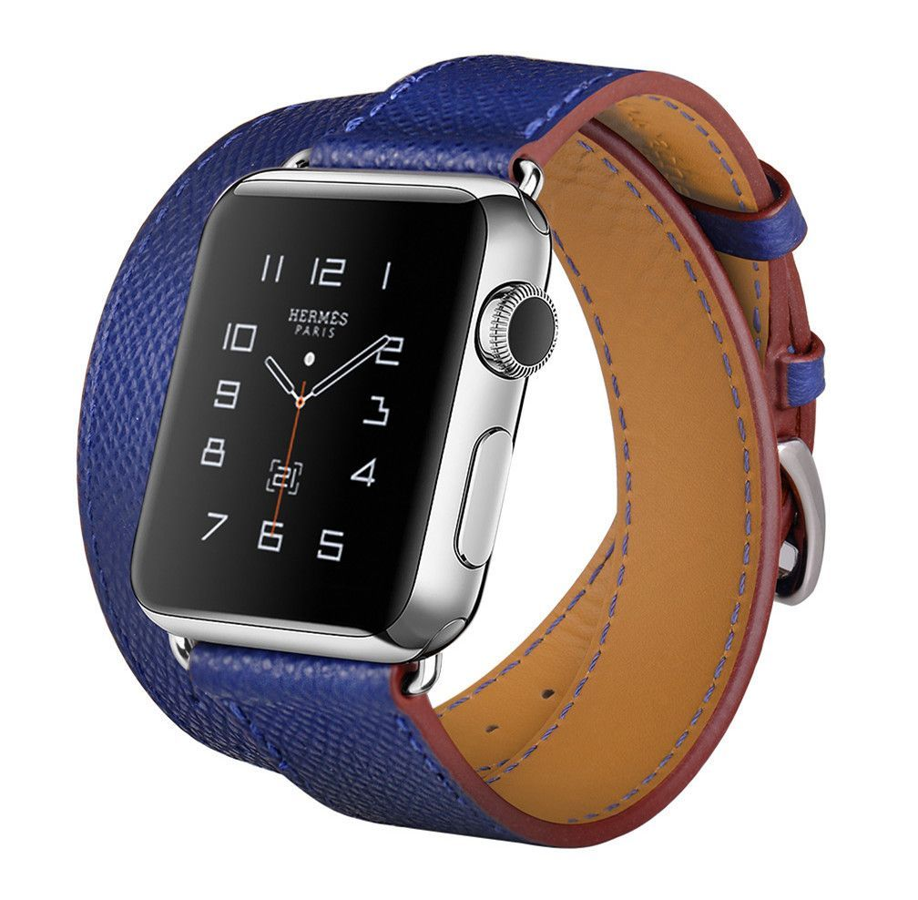 6be39abf5b2 Hoco Hand Print Leather Hermes band For Apple Watch 38mm 42mm