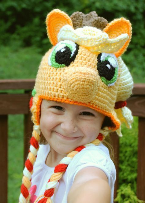 My Little Pony Applejack Costume Crochet Applejack Hat Crochet Hat