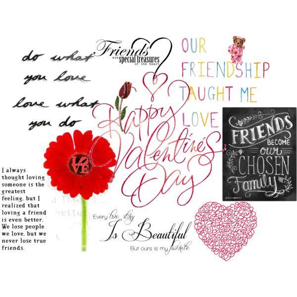 """Happy Valentine's Day"" by mitzijani on Polyvore"