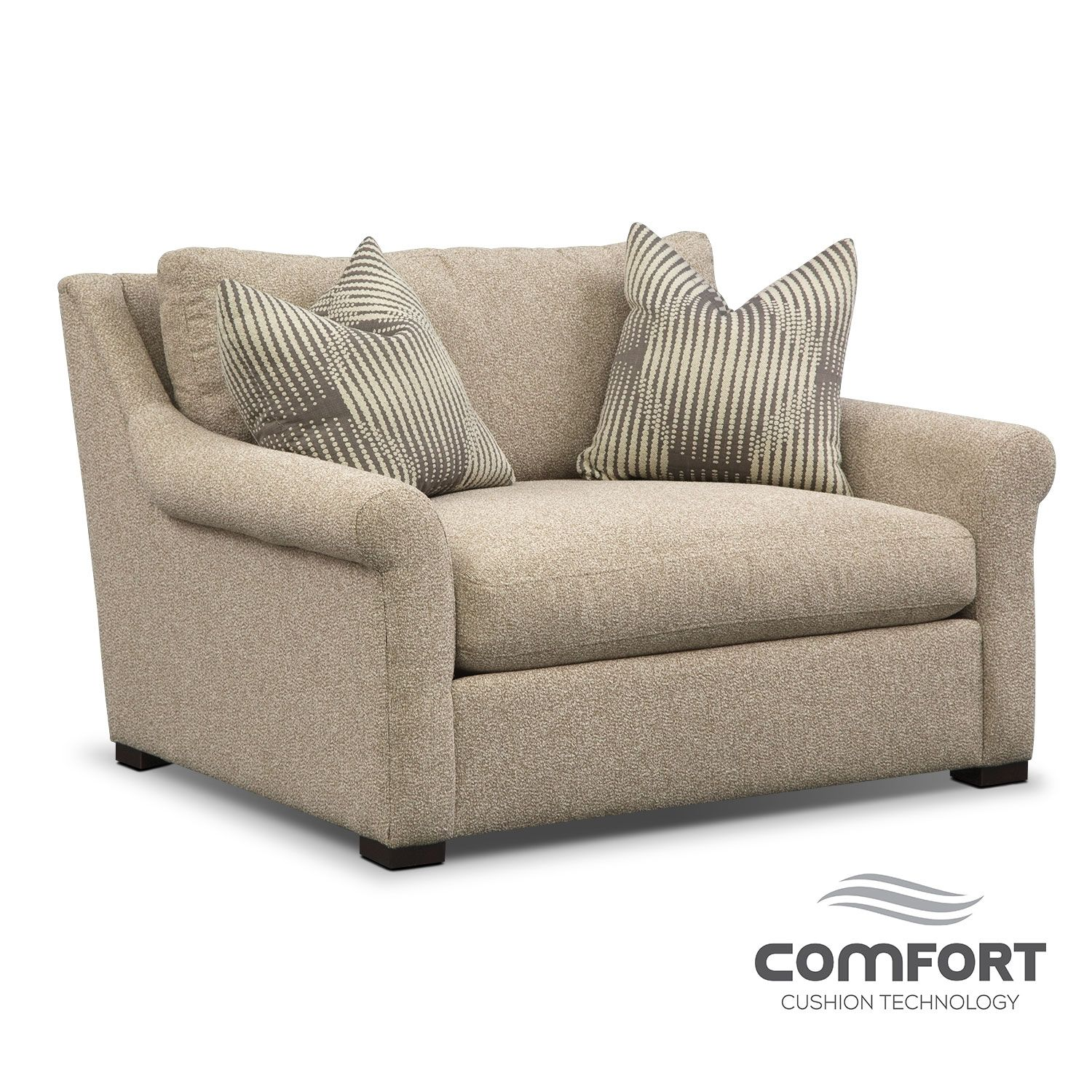 American Made Furniture Stores Near Me: Mother-Approved. The Robertson Comfort Chair And A Half