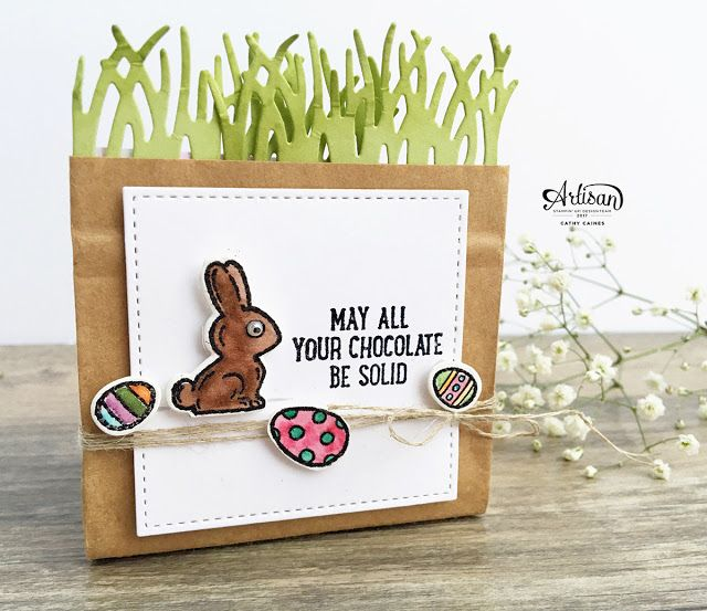 In The Cat Cave: may all your chocolate be solid | Stampin' Up! Art...