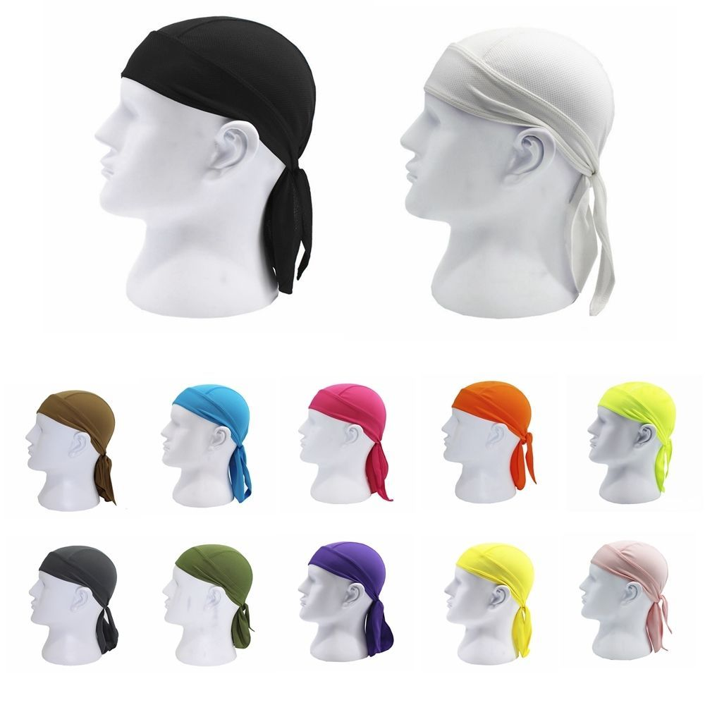 2 88aud Fitted Tied Mens Womens Pure Color Hat Biker Motorcycle Bandana Head Wrapest Ebay Fashion Mens Head Wrap Bandana Head Wraps Motorcycle Bandanas