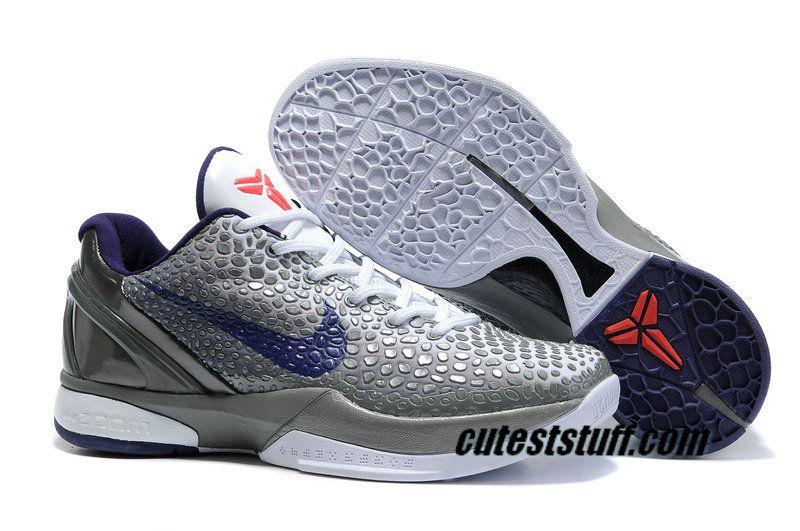 buy popular 0fa25 04bdc Nike Zoom Kobe 6 Shoes China Edition Metallic Grey
